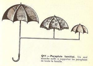 Parapluie familial